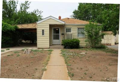 Pueblo Single Family Home For Sale: 1607 Cypress St
