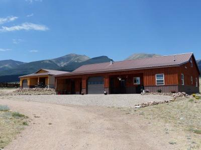 Westcliffe Single Family Home For Sale: 4399 County Rd 125