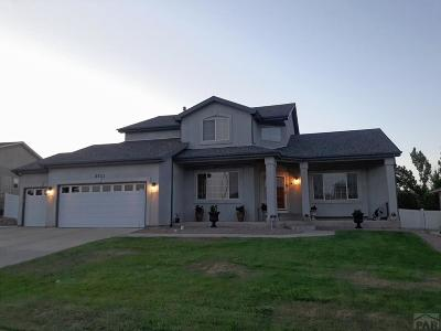 Pueblo Single Family Home For Sale: 5111 Mojave Dr