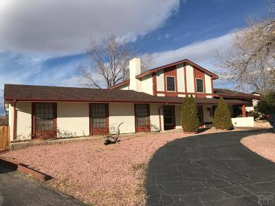 Pueblo Single Family Home For Sale: 3233 Shalimar Terrace