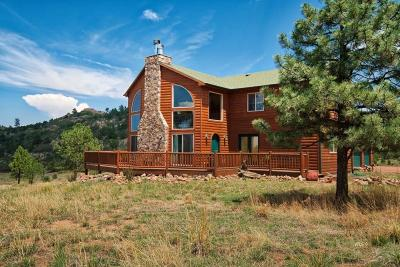 Westcliffe Single Family Home For Sale: 6490 County Rd 255