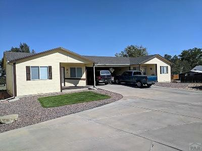 Pueblo Single Family Home For Sale: 1700 N Reading Ave #J