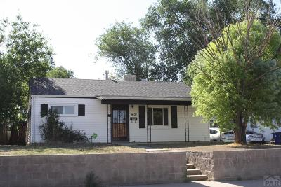 Pueblo Single Family Home For Sale: 2621 Emilia St
