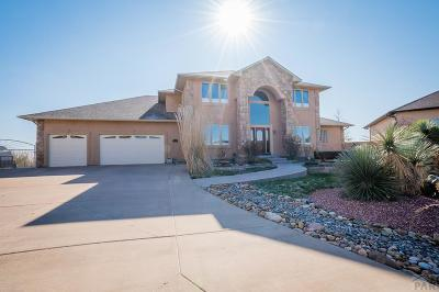 Pueblo West, Pueblo, 81005 Pueblo Co Single Family Home For Sale: 3534 Delano