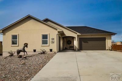 Pueblo West Single Family Home For Sale: 2139 W Las Flores Dr