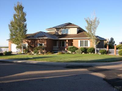 Pueblo West, Pueblo, 81005 Pueblo Co Single Family Home For Sale: 8 Kalanchoe Ct.