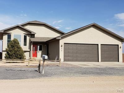 81005 Pueblo Co, Pueblo West, Pueblo Single Family Home For Sale: 917 E Blackstone Dr