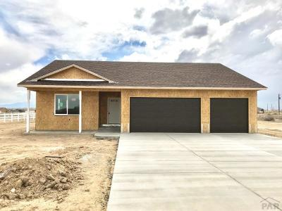 Pueblo West CO Single Family Home For Sale: $283,350