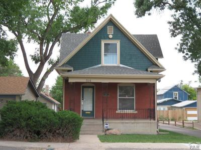 Pueblo Single Family Home For Sale: 514 W 10th St
