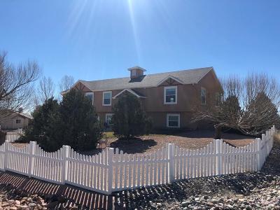Pueblo West Single Family Home For Sale: 1212 W Camino Pablo Dr