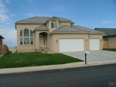 Pueblo Single Family Home For Sale: 4601 Crested Hill Ct.