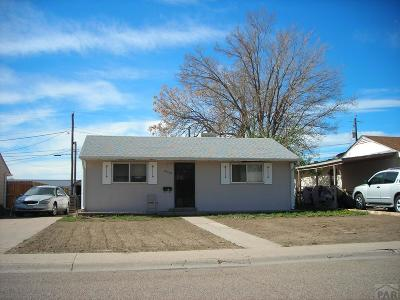 Pueblo CO Single Family Home For Sale: $75,000