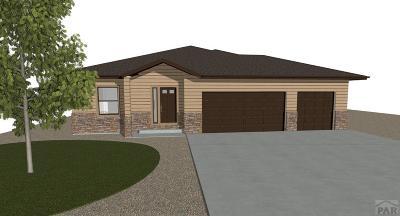 Pueblo West CO Single Family Home For Sale: $344,990