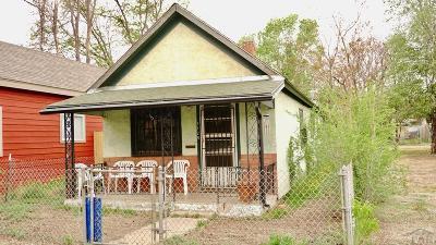 Pueblo CO Single Family Home For Sale: $67,900