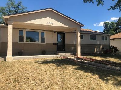 Pueblo Single Family Home For Sale: 1710 Comanche Rd