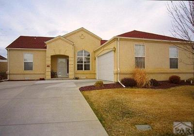 Pueblo Single Family Home For Sale: 1721 Paseo Del Tesoro