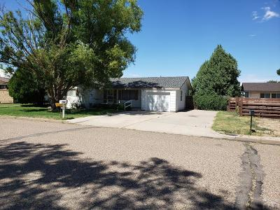 Lamar CO Single Family Home For Sale: $120,000