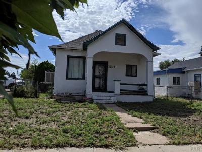 Pueblo Single Family Home For Sale: 1727 Pine St