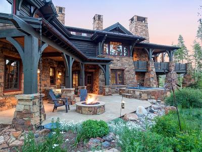 Breckenridge CO Single Family Home For Sale: $6,399,000