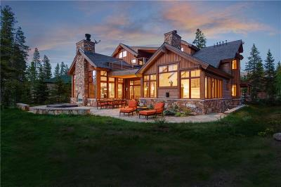 Breckenridge CO Single Family Home For Sale: $7,495,000
