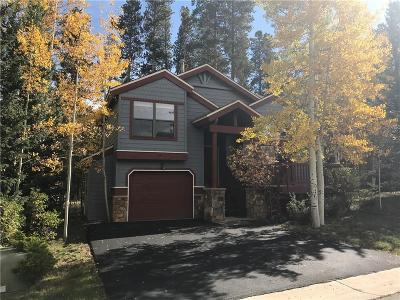 Breckenridge Single Family Home For Sale: 88 Deep Powder Circle