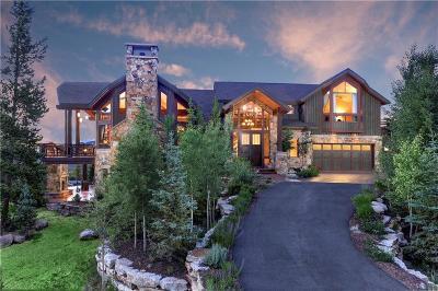 Breckenridge CO Single Family Home For Sale: $3,200,000