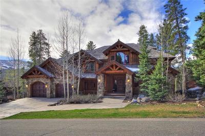 Breckenridge CO Single Family Home For Sale: $3,498,000