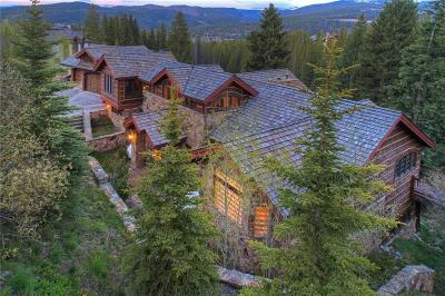 Breckenridge CO Single Family Home For Sale: $5,995,000