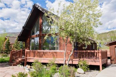 Silverthorne Single Family Home For Sale: 1308 Rainbow Drive