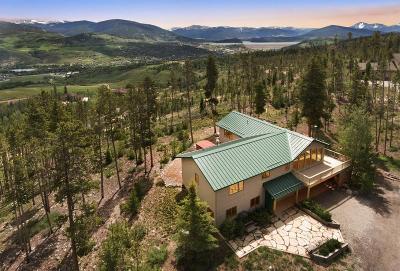 Dillon, Silverthorne, Summit Cove Single Family Home For Sale: 1139 Emerald Road