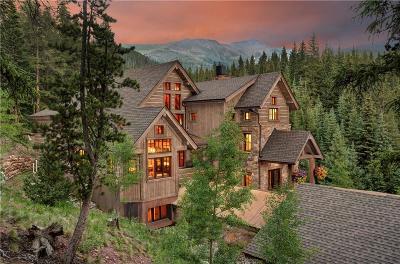 Breckenridge CO Single Family Home For Sale: $4,495,000