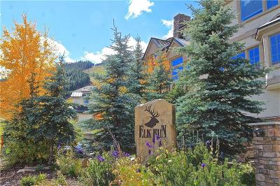 Copper Mountain Townhouse For Sale: 214 Wheeler Place #6