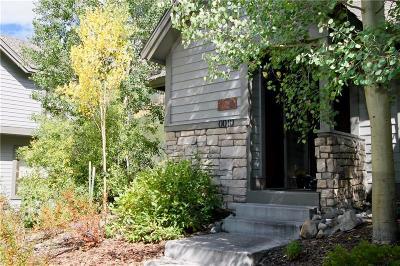 Copper Mountain Duplex For Sale: 10 Fairway Lane #24