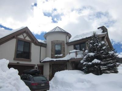 Copper Mountain CO Single Family Home For Sale: $2,595,000
