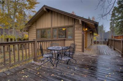Breckenridge Duplex For Sale: 867 Broken Lance Drive