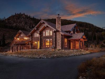 Breckenridge CO Single Family Home For Sale: $2,100,000