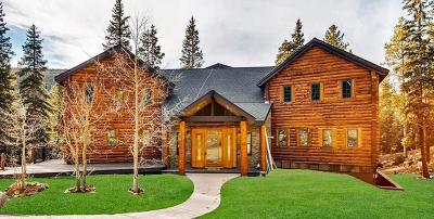 Breckenridge CO Single Family Home For Sale: $1,500,000