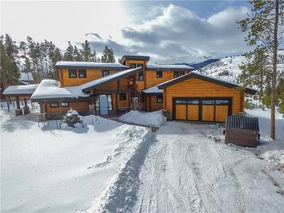 Breckenridge CO Single Family Home For Sale: $1,450,000