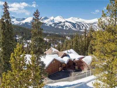 Breckenridge CO Single Family Home For Sale: $1,995,000