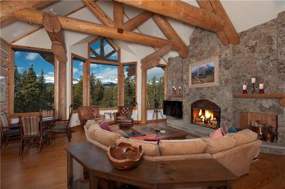 Breckenridge CO Single Family Home For Sale: $4,850,000