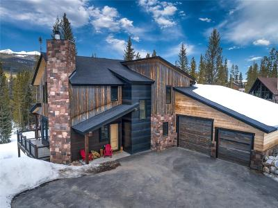 Breckenridge CO Single Family Home For Sale: $1,499,000