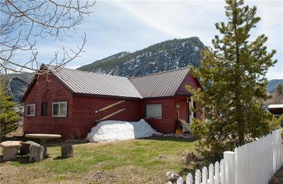 Summit County Single Family Home For Sale: 212 Galena Street
