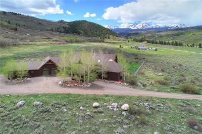 Frisco, Silverthorne, Dillon Single Family Home For Sale: 223 County Road 2408