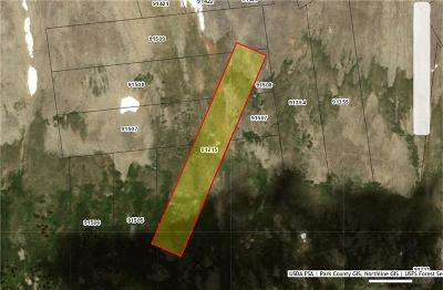 Fairplay, Alma, Como, Jefferson Residential Lots & Land For Sale: Co Rd 2