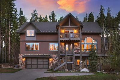 Breckenridge CO Single Family Home For Sale: $2,500,000