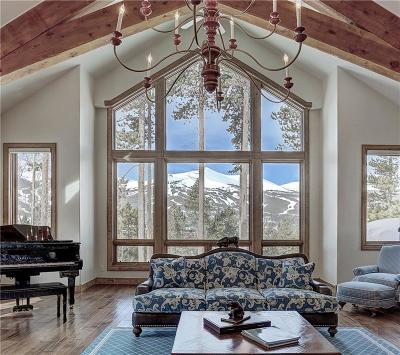 Breckenridge CO Single Family Home For Sale: $4,750,000