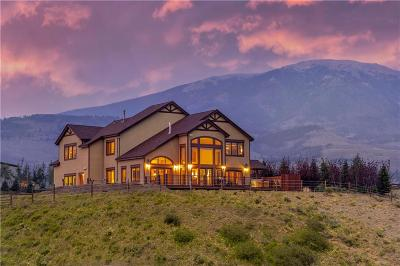 Silverthorne CO Single Family Home For Sale: $2,199,000
