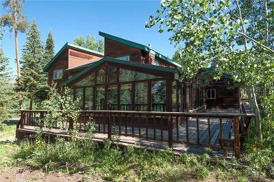 Breckenridge Single Family Home For Sale: 114 N Gold Flake Terrace