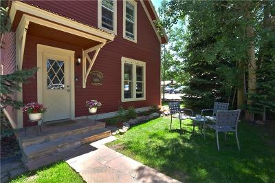 Breckenridge, Copper Mountain, Dillon, Frisco, Keystone, Silverthorne Single Family Home For Sale: 106 S French Street