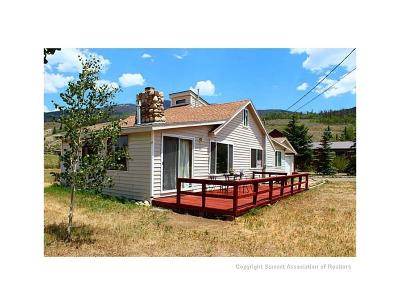 Silverthorne CO Single Family Home For Sale: $555,000